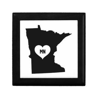 Boîte À Souvenirs Amour du Minnesota