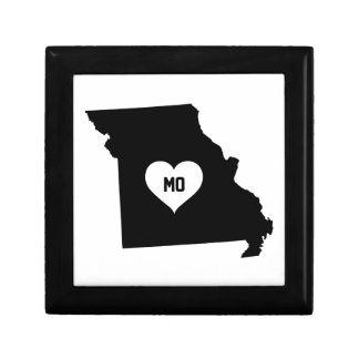 Boîte À Souvenirs Amour du Missouri