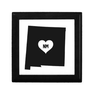 Boîte À Souvenirs Amour du Nouveau Mexique