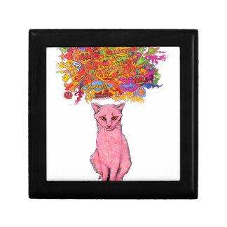 Boîte À Souvenirs Amour et bonheur Kitty de paix