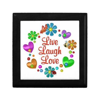 Boîte À Souvenirs Amour vivant de rire d'amusement