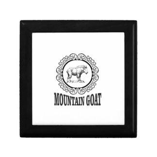 Boîte À Souvenirs anneau de la chèvre de montagne