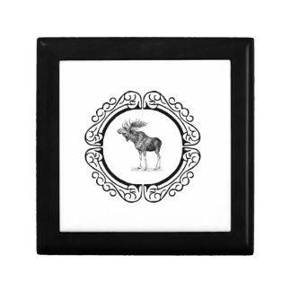 Boîte À Souvenirs anneau des orignaux de taureau