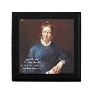 Boîte À Souvenirs Annette von Droste-Hulshoff 1838