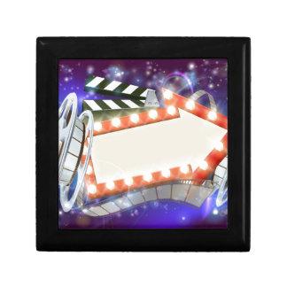 Boîte À Souvenirs Arrière - plan d'abrégé sur signe de flèche de