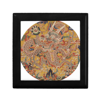 Boîte À Souvenirs Art chinois asiatique impérial de dragon de Ming