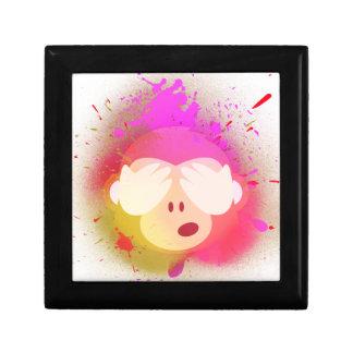 Boîte À Souvenirs Art créatif superbe de peinture de jet d'Emoji de