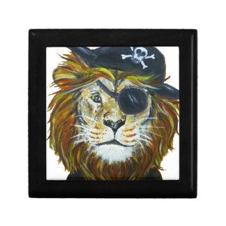 Boîte À Souvenirs Art de pirate de lion