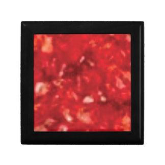 Boîte À Souvenirs art rouge rouge