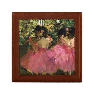 Boîte À Souvenirs Ballerines dans le rose par Edgar Degas