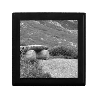 Boîte À Souvenirs banc noir et blanc