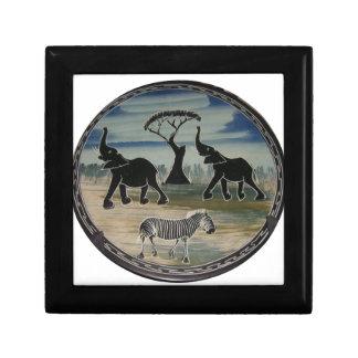 Boîte À Souvenirs Belle faune élégante de l'Afrique Kenya