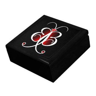 Boîte À Souvenirs Bijoux lunatiques GiftBox de Bling de papillon