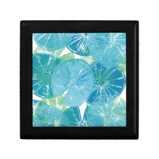 Boîte À Souvenirs Bleus de protection de lis