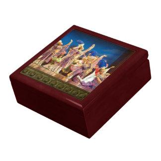 Boîte À Souvenirs Boîte-cadeau chinoise de danseurs