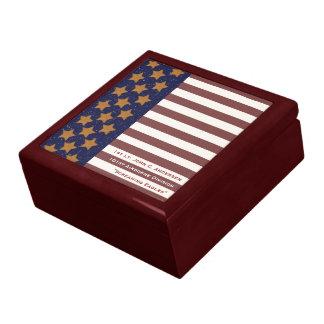 Boîte À Souvenirs Boîte-cadeau de drapeau américain