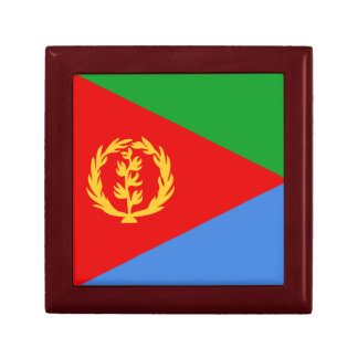 Boîte À Souvenirs Boîte-cadeau de drapeau de l'Érythrée