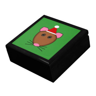 Boîte À Souvenirs Boîte-cadeau de souris de Joyeux Noël