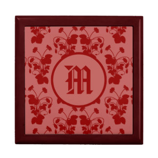 Boîte À Souvenirs Boîte-cadeau de tuile de motif de fraisiers