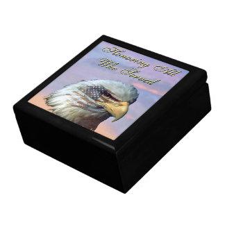 Boîte À Souvenirs Boîte-cadeau de vétérans de drapeau d'oiseau des
