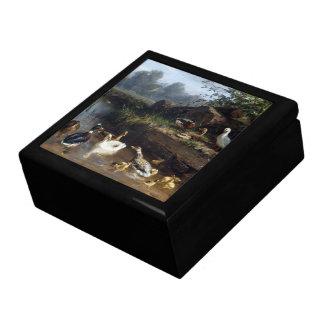 Boîte À Souvenirs Boîte-cadeau d'étang de faune d'animaux d'oiseaux