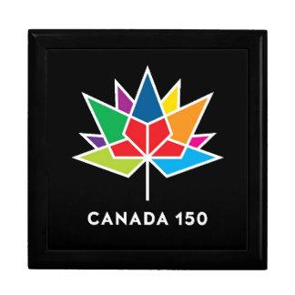 Boîte À Souvenirs Boîte-cadeau du Canada 150th