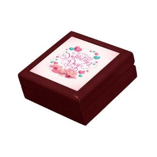 Boîte À Souvenirs Boîte-cadeau élégante de Saint-Valentin de coeurs