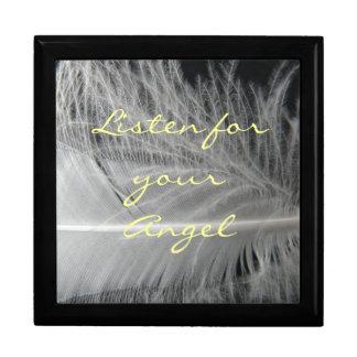 Boîte À Souvenirs Boîte de citation d'ange
