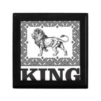 Boîte À Souvenirs boîte de lion de roi