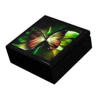 Boîte À Souvenirs Boîte géométrique de bibelot de papillon