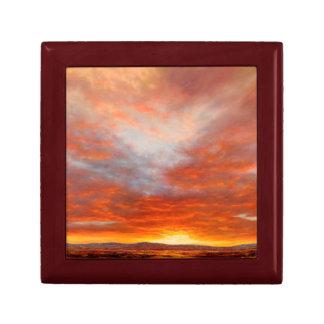 Boîte À Souvenirs Boîte inspirée de souvenir de lever de soleil