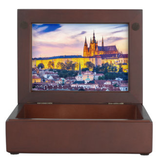 Boîte À Souvenirs Boîte Prague de souvenir