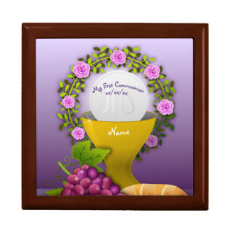 Boîte À Souvenirs Boîte sainte de mémoire d'eucharistie de première