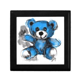 Boîte À Souvenirs Bonjour ours