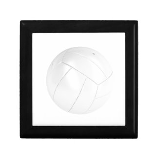 Boîte À Souvenirs Boule blanche de volleyball