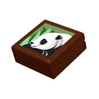Boîte À Souvenirs Cadeaux d'amant d'ours panda