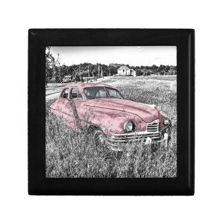 Boîte À Souvenirs Capot vintage de moteur de phare de voiture