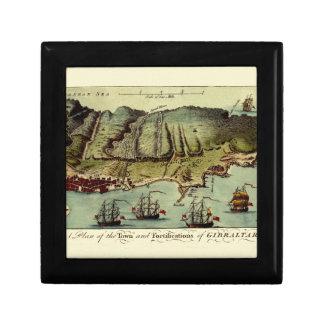 Boîte À Souvenirs Carte du Gibraltar 1765