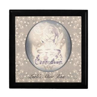 Boîte À Souvenirs Celtic Cerridwen et le chaudron de la connaissance