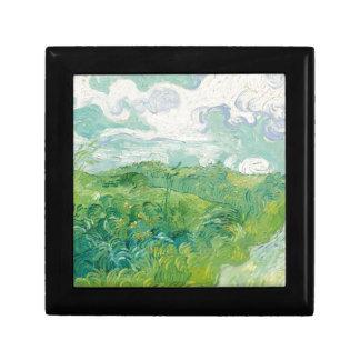 Boîte À Souvenirs champs de blé verts de Van Gogh