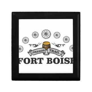 Boîte À Souvenirs charrue au fort boise