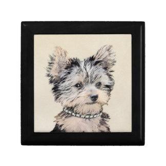 Boîte À Souvenirs Chiot de Yorkshire Terrier