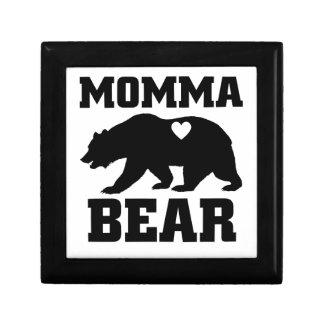 Boîte À Souvenirs Citation de cadeau d'ours de mamans la meilleure