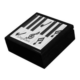 Boîte À Souvenirs Clavier de piano personnalisé