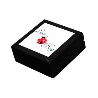 Boîte À Souvenirs Coccinelle rouge