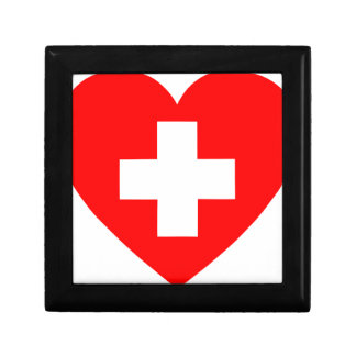 Boîte À Souvenirs Coeur de premiers secours