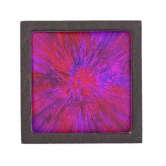 Boîte À Souvenirs Colorant violet de cravate