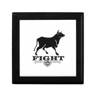Boîte À Souvenirs combat de taureau noir