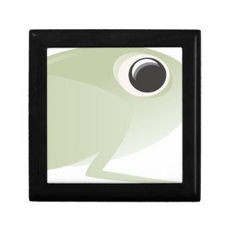 Boîte À Souvenirs conception blanche de noir d'inspiration d'art