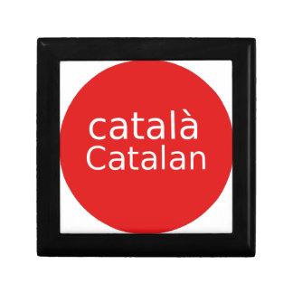 Boîte À Souvenirs Conception catalanne de langue